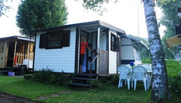 Roulotte camping